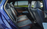 13 Volkswagen ID 4 2021 UK first drive review rear seats