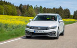 Volkswagen Passat GTE Estate 2019 first drive review - on the road front