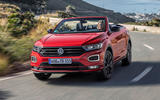 Volkswagen T-Roc Cabriolet 2020 first drive review - on the road front
