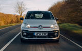 Volkswagen Up GTI 2020 UK first drive review - on the road nose