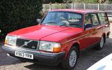 Volvo 240 Estate - front