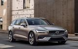 Volvo V60 2018 review on the road front