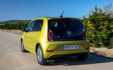 Volkswagen e-Up 2020 first drive review - on the road rear
