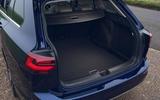 13 VW Golf Estate 2021 UK FD boot