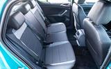 Volkswagen T-Cross R-Line 2020 UK first drive review - rear seats