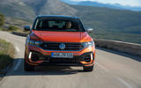 Volkswagen T-Roc R 2019 first drive review - on the road nose