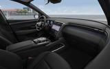 Hyundai Tuscon - interior