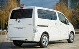 Nissan e-NV200 boot closed