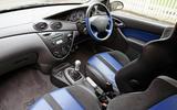 Ford Focus RS 2002 - interior