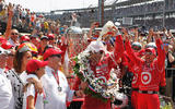 13 Dario Franchitti Indy 500 win