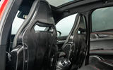 Alfa Romeo Stelvio Quadrifoglio 2018 UK RHD first drive - sports seats
