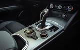 Alfa Romeo Stelvio Sprint 2020 UK first drive review - centre console