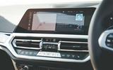 Alpina B3 Touring 2020 UK first drive review - infotainment