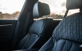 Alpina B5 Touring 2018 UK first drive review - front seats