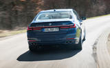 Alpina B7 2019 first drive review - on the road rear