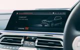 14 Alpina XB7 2021 UK first drive review infotainment