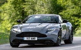Aston Martin DB11 AMR 2018 review on the road front
