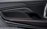 Aston Martin DBS Superleggera Volante 2019 first drive review - door cards