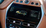 Aston Martin DBX 2020 UK first drive review - infotainment
