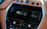 Aston Martin DBX 2020 UK first drive review - infotainment