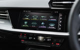 Audi A3 TFSIe 2020 UK first drive review - infotainment