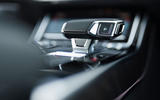 Audi A8 60 TFSIe 2020 UK first drive review - gear selector