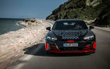 Audi RS E-tron GT 2021 prototype drive - on the road nose