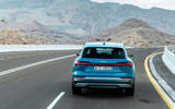Audi E-tron quattro 2018 first drive review - on the road rear