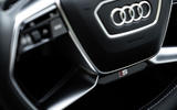 Audi E-tron S Sportback 2020 first drive review - steering wheel
