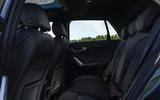 Audi Q2 35 TFSI Sport 2020 UK first drive review - rear seats