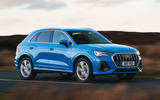 Audi Q3 45 TFSI 2019 first drive review - on the road front