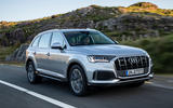Audi Q7 2019 first drive review - on the road front