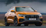 14 Audi Q8 TFSI e 2021 uk FD static front