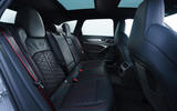 Audi RS6 2020 UK first drive review - rear seats
