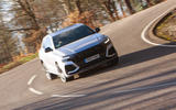 Audi RS Q8 2020 UK first drive review - on the road nose