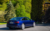 Audi S6 2019 first drive review - static rear