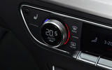14 Audi SQ5 TDI 2021 UK FD climate controls