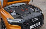 14 Audi SQ8 2021 UK FD engine