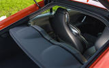 Audi TT Coupe 2019 UK first drive review - rear shelf