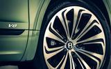 Bentley Bentayga facelift - wheel