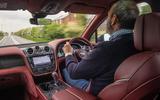 Bentley Bentayga Speed 2019 UK first drive review - Andrew Frankel driving