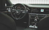 Bentley Flying Spur 2020 UK first drive review - steering wheel