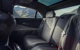 14 Bentley Fyling Spur V8 2021 UK review rear seats