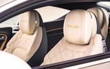 Bentley Mulliner GT - interior