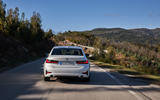 BMW 3 Series 320d Sport Line 2019 first drive review - back