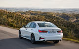BMW 3 Series 320d Sport Line 2019 first drive review - rear