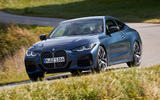 BMW 4 Series 2020 first drive review - cornering front