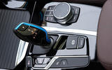 BMW iX3 2020 first drive review - centre console