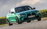 bmw m3 competition 2021 uk first drive review ok drift