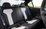 BMW M3 CS 2018 review rear seats